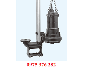 Bơm nước thải Tsurumi 100B43.7 ( 3,7kw ) 120m3/h