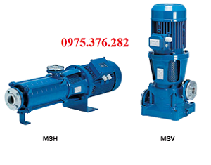 Bơm cấp nước đa tầng cánh MSVC-3/18.5