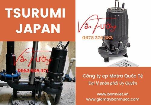 Máy bơm tsurumi 50U2.4